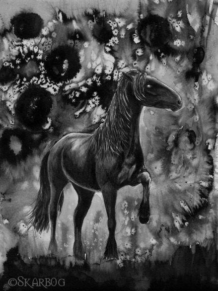 Stranger a hound's horse