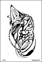 Toruk line art