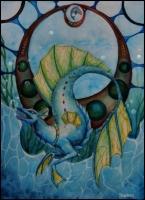 Water_Dragon_by_Skarbog