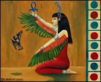 Egyptian godess MAAT